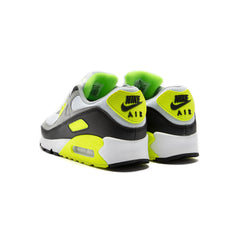 Nike Air Max 90 (White/Particle Grey-Volt-Black)