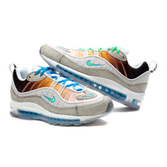 Nike Air Max 98 OA GS (Vast Grey/Electro Green-Blue Hero-White) *ALL SALES FINAL*