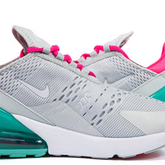 Nike Women's Air Max 270 (Pure Platinum/White-Pink Blast)