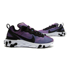 Nike Women's Element 55 Premium (Black/Black-Laser Fuchsia-White)