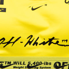 Nike x Off-White Women's NRG AS Bra (Opti Yellow)