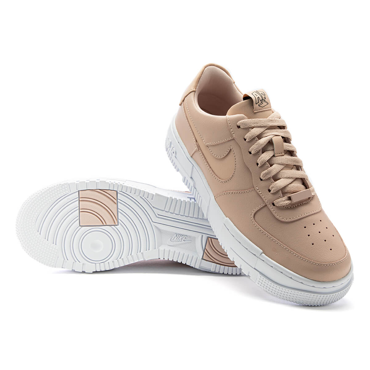 nike air force particle beige