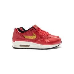 Nike Women's Air Max 1 (University Red/Metallic Gold-Black)