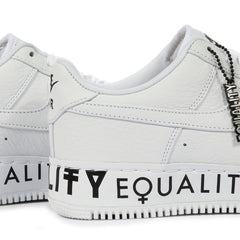 Nike Air Force 1 Low CMFT Equality (White/White-Black)