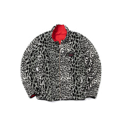 Ovadia & Sons Marsh Reversible Sherpa Jacket (Leopard)