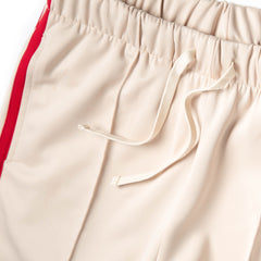 Ovadia & Sons Ball Track Pant (Tan/Red)