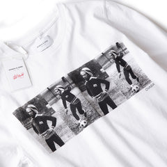 Ovadia & Sons Bob Marley Soccer LS Tee (White)