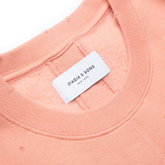 Ovadia & Sons Dune Distressed Sweatshirt (Washed Rose)