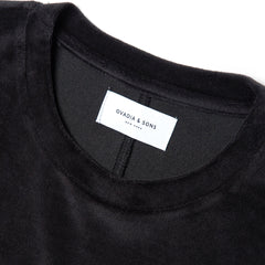 Ovadia & Sons Velour T Shirt (Black)