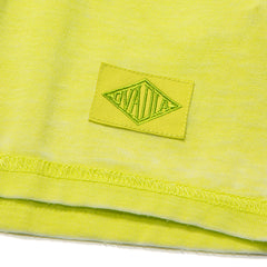 OVADIA & SONS REVERSE BURNOUT TEE (SAFETY YELLOW)
