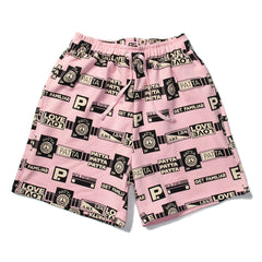 Patta Mix Tape Shorts (Fairy Tale/Black)