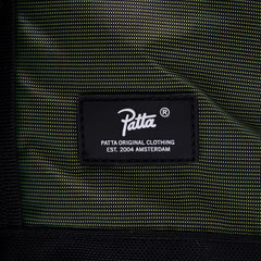 Patta Patta HI-VIS Back Pack (Black/Safety Yellow)