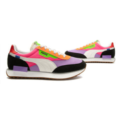 Puma Women's Future Rider Play On (Luminous Purple-Fluo Pink)