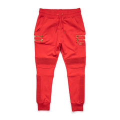Puma Women's X BALMAIN BIKER SWEATPANTS (High Risk Red)