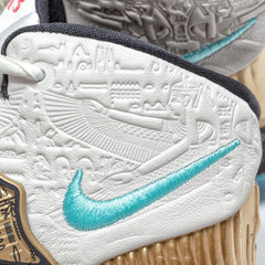 "Nike x Concepts Kyrie 6 ""Golden Mummy"" Grade School (Sail/Light Aqua-Metallic Gold-Black)"