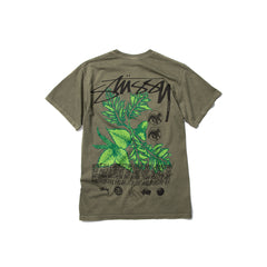 Stussy BLOOM DYED TEE (Olive)
