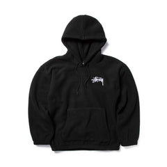 STUSSY WOMEN'S BRONSON POLAR FLEECE HOOD (BLACK)
