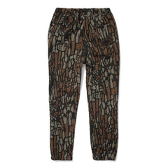 Stussy Tree Bark Sweatpant (Brown)