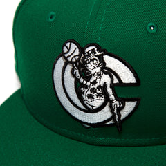 New Era Tatum x CNCPTS Snapback LUCKY CC (Kelly Green)
