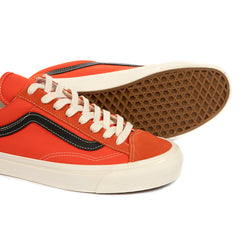 Vans OG Style 36 LX (Red Orange/Black)