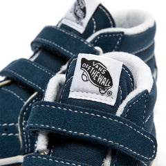 Vans Toddler SK8-MID ReIssue V (Gibraltar Sea/True White)