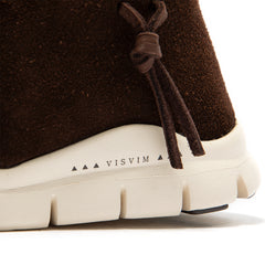 Visvim Women's UTE MOC Trainer Mid-Folk (Brown)