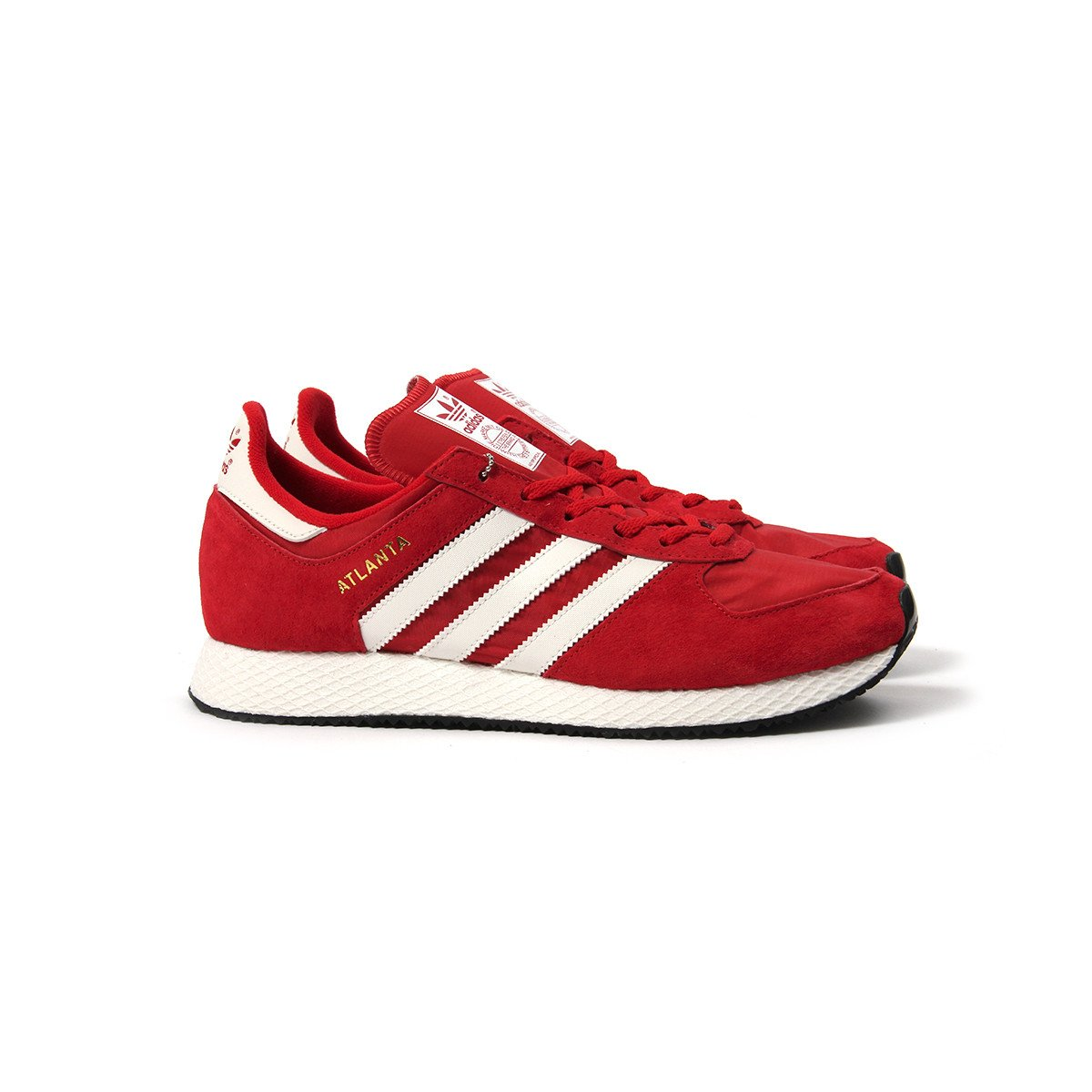 9 NEW ADIDAS Originals ATLANTA Spzl Spezial Scarlet Red White Gold BY1880