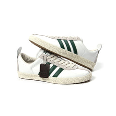 Adidas Trainer SPZL (White/Dark Green-Gold Metallic)