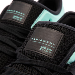 Adidas Women's EQT Racing Adv (Black/Black-Aqua)