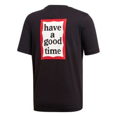 adidas Have A Good Day Tee (Black/White-Red)