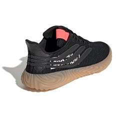 adidas Sobakov (Black/Black/Flame Red)