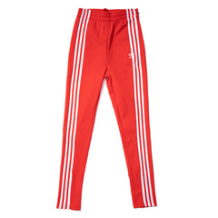 ADIDAS WOMEN'S TRACK PANT (RED)