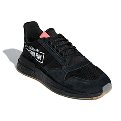 adidas ZX 500 RM (Black/Black/Flame Red)