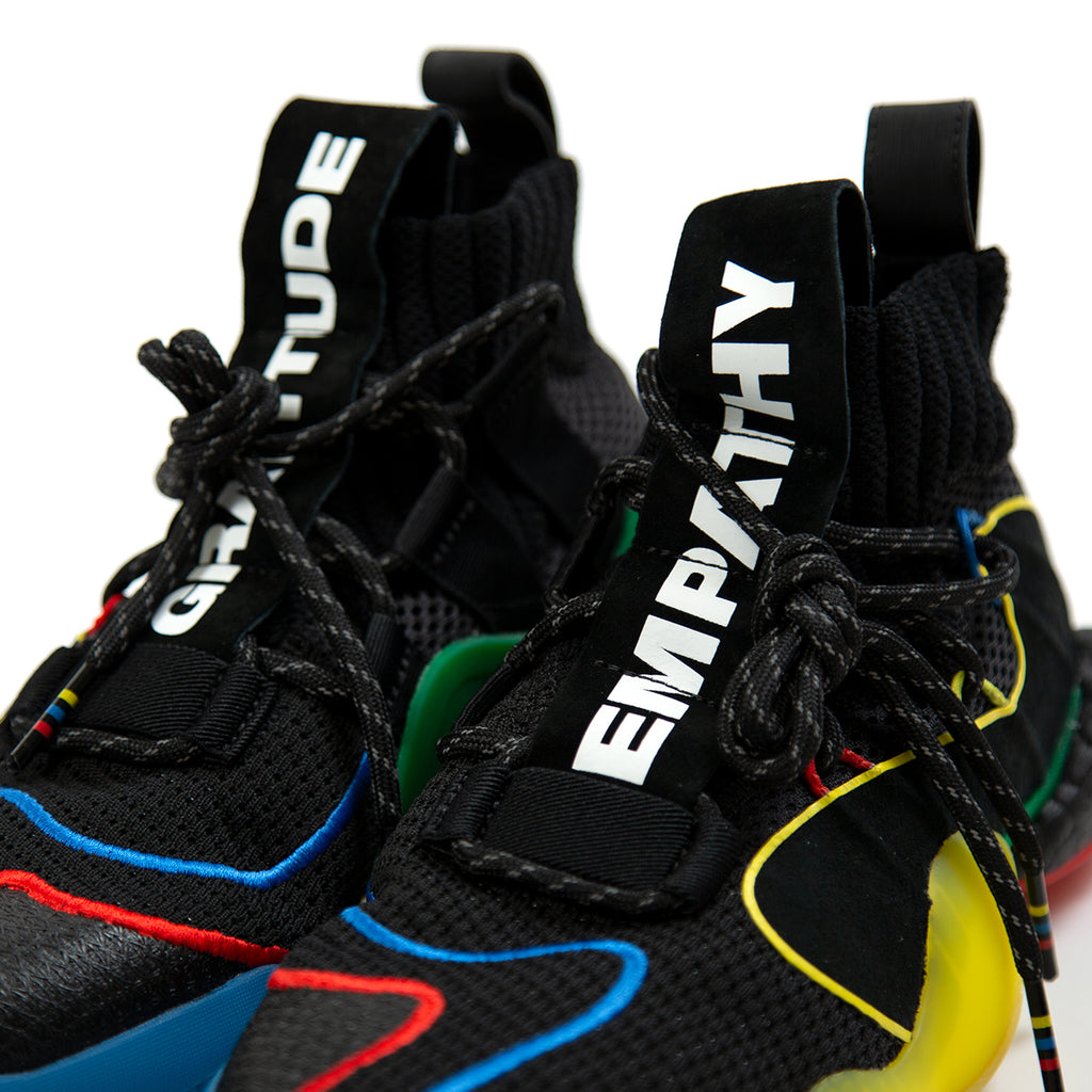 7dba6ce6127e9 ... adidas X PW Crazy BYW LVL (Core Black Green Red Yellow) ...