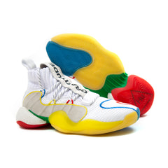 adidas Crazy BYW LVL X PW (White/Supcol-Supcol)