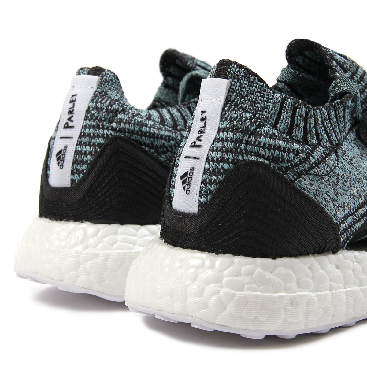 c7cde4561d878 adidas Womens UltraBOOST X Parley (Carbon Carbon-Blue)