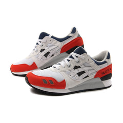 Asics Gel-Lyte III (White/White-Red)