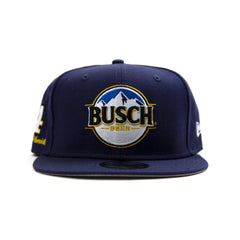 New Era Kevin Harvick Busch Diamond Snapback (Navy/Navy)