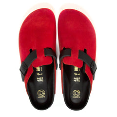 CONCEPTS X BIRKENSTOCK SUEDE BOSTON (RED)