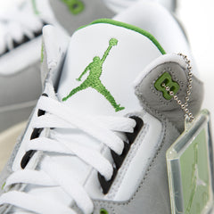 Nike Air Jordan 3 Retro (Light Smoke Grey/Chlorophyll/Black/White)