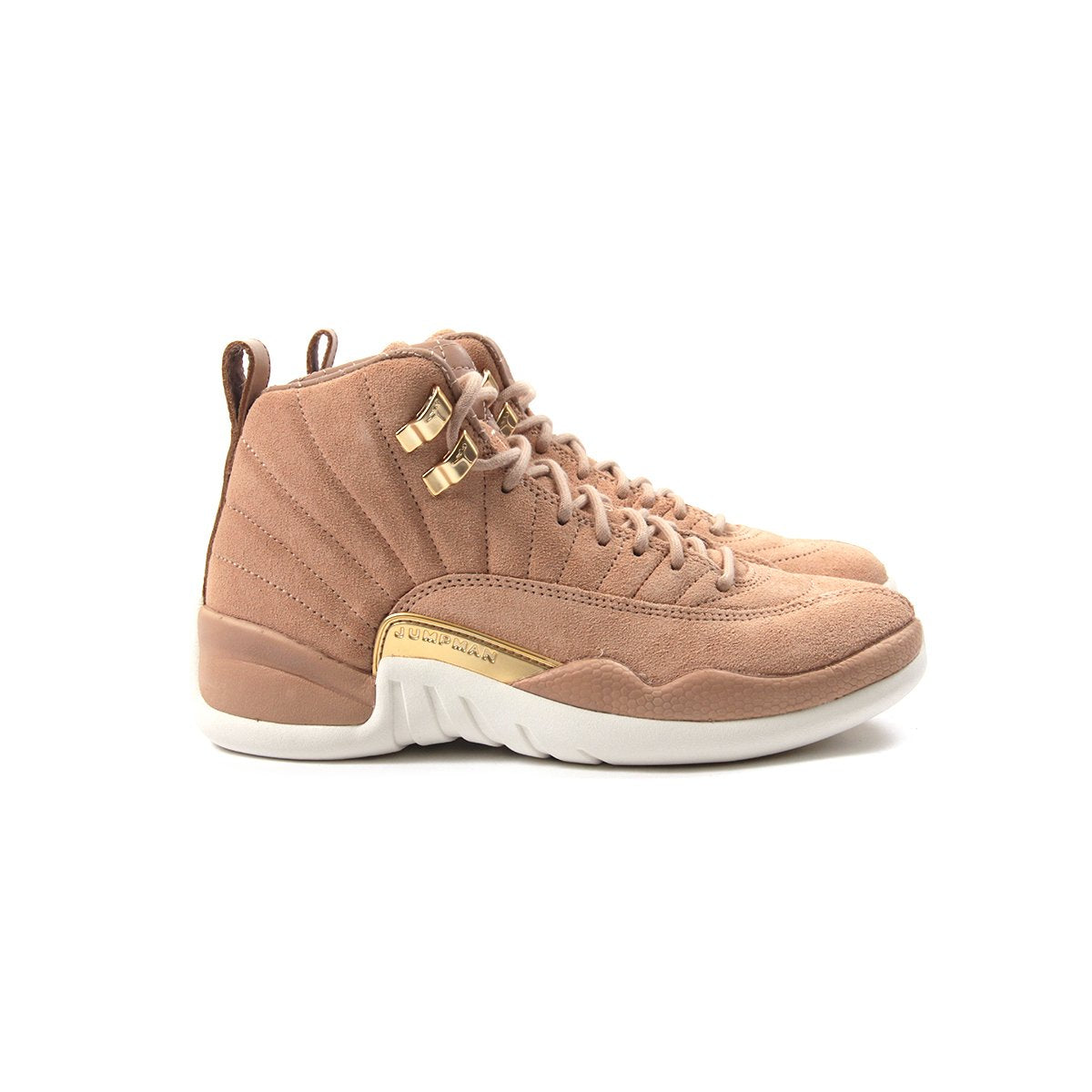huge discount aeaec bcf06 ConceptsIntl   Nike Womens Air Jordan 12 Retro (Vachetta Tan Metallic  Gold-Sail)