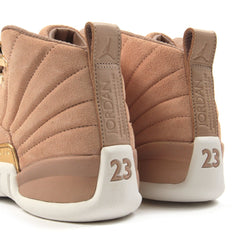 Nike Womens Air Jordan 12 Retro (Vachetta Tan/Metallic Gold-Sail)