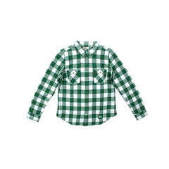 Levi's Womens Celtics Flannel Shirt (Green/White)
