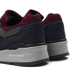 New Balance Made in USA M997PTB (Navy/Wine)