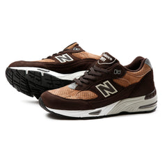 New Balance M991DBT Made in England (Brown/Tan-Brown)