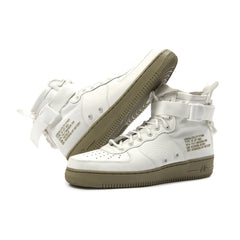 Nike SF Air Force 1 Mid (Ivory/Ivory-Neutral Olive)