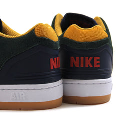 Nike SB Air Force II Low (Midnight Green/Habanero Red-Blue Void)