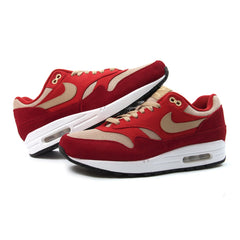 Nike Air Max 1 Premium Retro (Tough Red/Mushroom Red-Pale Vanilla)