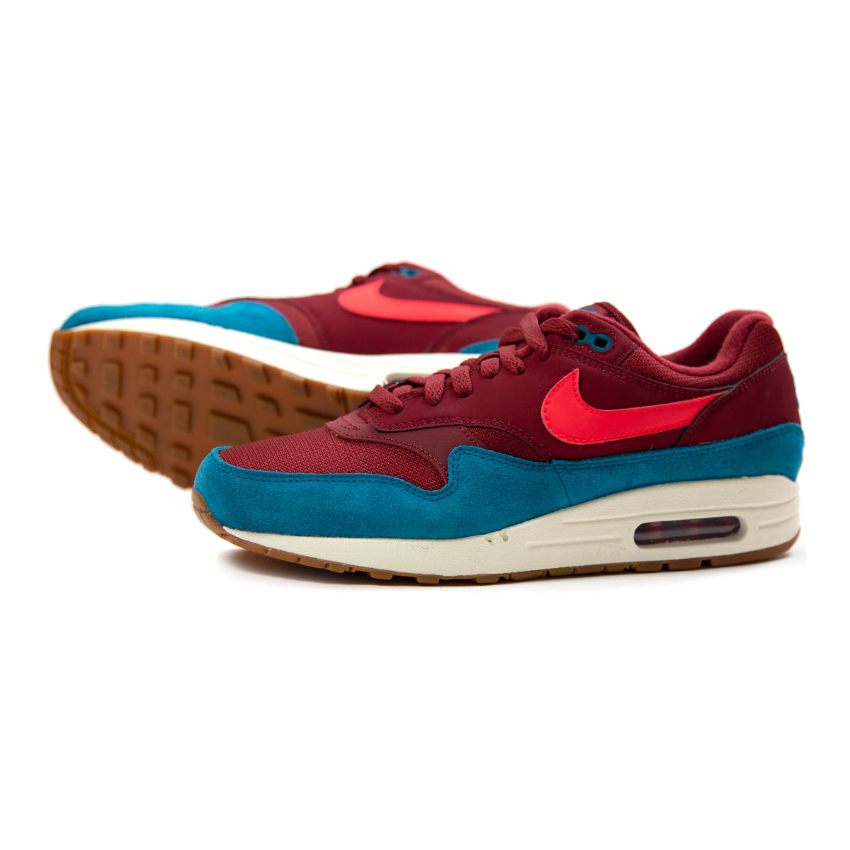 new style 8a6bc 24651 Nike Air Max 1 (Team RedRed OrbitGreen AbyssWhite)