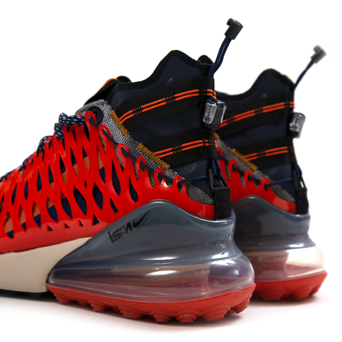 977446f95ae Nike Air Max 270 ISPA (Blue Void/Black-Terra Orange-Oatmeal) BQ1918-400